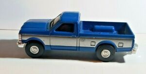 ERTL Farm Country Ford F-250 Pickup Truck Two-Tone Blue / Silver 1/64 Scale
