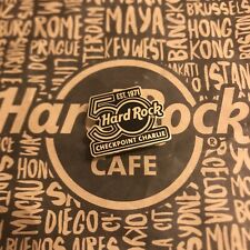 Hard Rock Cafe HRC BERLIN CHECKPOINT CHARLIE 50TH ANNIVERSARY LOGO Pin Limited