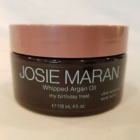 Josie Maran Whipped Argan Oil Body Butter My Birthday Treat 4 Oz NEW