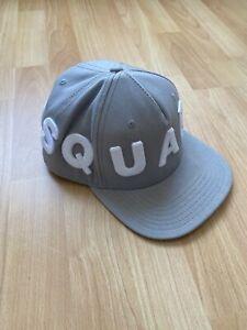 Dsquared Cap Grau 100% Original