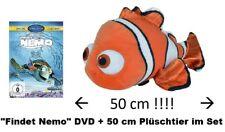 DVD * FINDET NEMO (DISNEY) - KINOFILM + PLÜSCHTIER (SIMBA) IM SET # NEU OVP