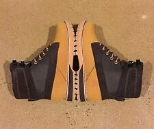 DC Uncas Men's Size 6 US Wheat Dark Chocolate BMX Skate Hiking Trail Work Boots