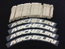 "Permanent Tire Letter Sticker Decal Michelin 0.75"" For 17"" To 21"" Tires 8pcs"