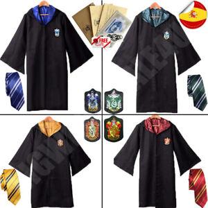 Harry Potter Gryffindor Halloween Carnaval Cloak Robe Capa Cosplay Traje Partido