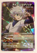 Miracle Battle Carddass Hunter × Hunter Killua Zoldyck P HH 11 Promo