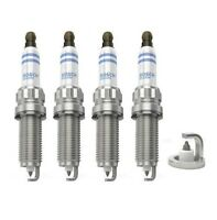 Spark Plugs x 4 Bosch Iridium Fits BMW Mini Cooper S / Works Citroen Peugeot