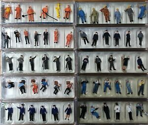 Preiser HO Gauge OO 1/87 Figure Set - Choose from List - Combined Post Available