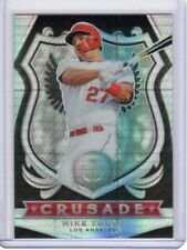 2020 Chronicles Baseball Mike Trout Crusade Holo Hyper Silver Prizm #d/299