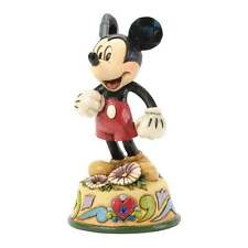 Disney Traditions September Mickey Mouse Figurine New Boxed 4033966