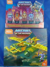 NEW WIND RAIDER Mega Construx MASTERS of the UNIVERSE MOTU He-Man Skeletor Lot