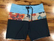 Billabong Colorblock Graphic Swim Boardshorts Size 32 Mens.     606