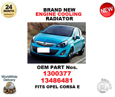 FOR 1300377 13486481 ENGINE COOLING RADIATOR OE QUALITY BRAND NEW FIT OPEL CORSA