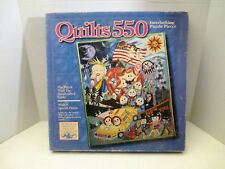 550 Pieces Jigsaw Puzzle Quilts 1992 Museum of American Folk Art