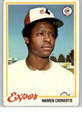 1978 Topps #468 Warren Cromartie F1C941