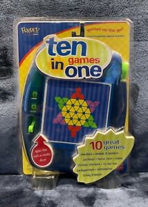 Fundex 2002 Ten Games In One Mini Magnetic Game System  Brand NEW Sealed