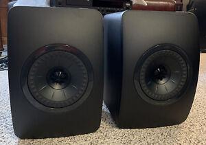 Kef Ls50 Black Edition Monitors