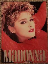 Madonna Concert Program, Virgin Tour 1985, Vintage!