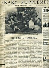 TIMES LITERARY SUPPLEMENT(UK)-BOUND VOL-JULY-DEC 1962-FEAST OF CLASSIC CRITICISM