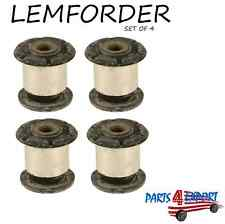 NEW Volkswagen Touareg Audi Q7 Set of 4 Control Arm Bushings OEM LEMFORDER