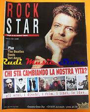 rivista ROCKSTAR 2/1996 Oasis Tori Amos Beatles Bisca 99 Posse Sepultura(*)No cd
