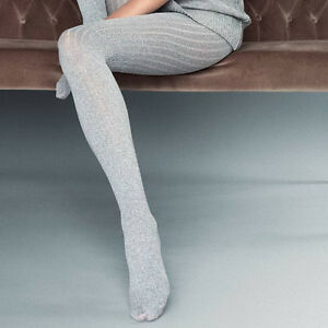 """Thick Opaque Tights """"Costina II"""" 60 DEN Knitted Ribbed"""
