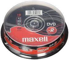 MAXELL DVD-R 120 Minuti 4.7 GB 16x velocità registrabili DISCHI VUOTI - 20 Pack Spindle