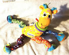 Lamaze+Stretch+the+Spotted+Plush+Giraffe+Crib+Stroller+toy+Ring+Link+Clip+and+Go
