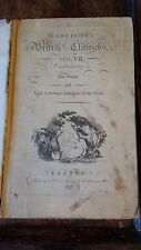 1787 HARRISON'S CLASSICKS - THE WORLD & LORD LYTTELTON'S DIALOGUES OF THE DEAD