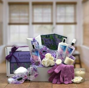 Lavender Sky Spa Gift Basket - Gift Baskets by Starr for all Occasions & Holiday