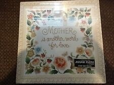 """SPRINGBOK 500 piece puzzle """"Mother Is Love"""" (Brand New) Rare & Out of Print"""