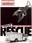 Fire Equipment Brochure - Saulsbury - Cougar Custom Heavy Duty Rescue (DB135)