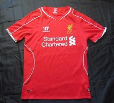 The Reds FC LIVERPOOL jersey by Warrior 2014-2015 /men/red/ S