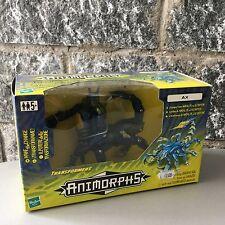 Hasbro  VINTAGE#1998 Transformers Animorphs Ax Scorpion Figure#NIB