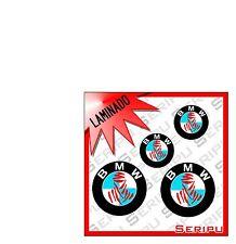 X4 DECAL LOGO BMW DAKAR ALTA CALIDAD  VINILO LAMINADO PEGATINA MOTO GP. ENDURO