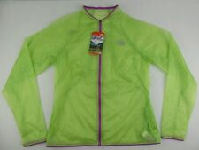 The North Face Better Than Naked Budding Green Running Jacket Size Womens Large