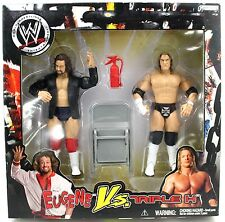 WWE JAKKS PACIFIC EUGENE VS. TRIPLE H ACTION FIGURE SET