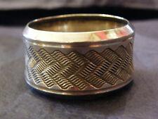 Anneau de Serviette en Argent Massif  Minerve Silver Silber Serviette Ring
