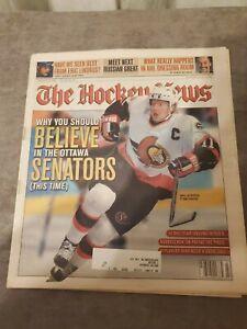 The Hockey News January 17 2003 Vol.56 No.19 Daniel Alfredsson