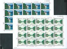 China 1998-26 West lake 2V Full S/S Joint Switzerland 瘦西湖