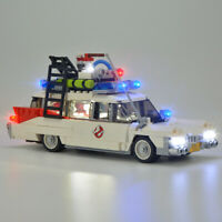 LED Light Up Kit For LEGO 21108  Ghostbusters Ecto-1 (With Instruction)