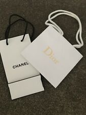 Chanel & Dior Empty Carriers