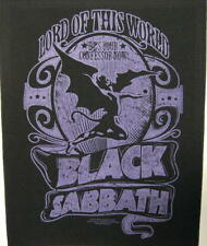 BLACK Sabbath schiena ricamate/Back Patch # 6 Lord Of This World - 36x29cm