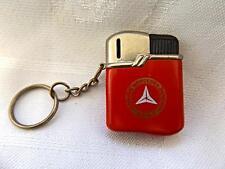 MERCEDES BENZ Vintage Red Enamel Metal Lighter