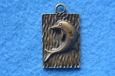 B019 breloque scrapbooking pendentif BRICOLAGE bracelet collier dauphin