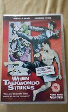 WHEN TAEKWONDO STRIKES DVD SAMMO HUNG ANGEL MAO NEW