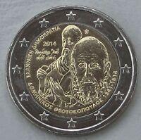 2 Euro Griechenland 2014 Theotokopoulos unz