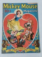 February 1938 Mickey Mouse Magazine Volume 3 Number 5