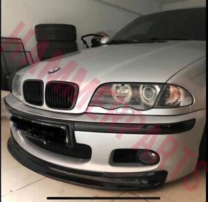 BMW E46 Mtec 3 Series Front Bumper Lip Spoiler M Tech Bumper Splitter Chin Gloss