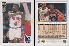 NBA UPPER DECK 1994 COLLECTOR'S CHOICE - Joe Dumars #104 - Ita/Eng - MINT