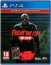 Friday The 13th The Game Ultimate Slasher Edition PS4 Game